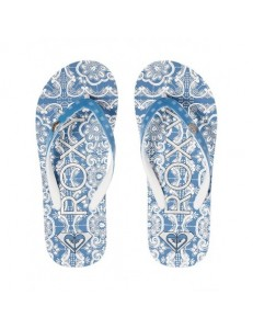Chanclas Roxy Pebbles VI - Blue/White