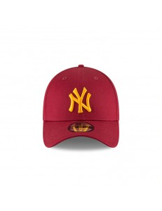 Gorra New York Yankees League Essential 39Thirty Flexfitted - Burdeos