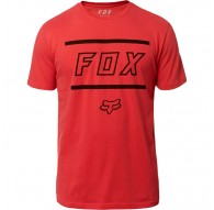 Camiseta Fox Head Midway Airline Tee - Rio Red