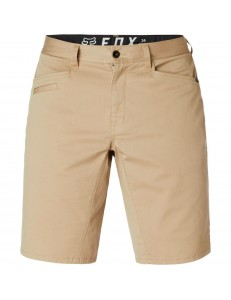 Pantalones Cortos Fox Head Strech Chino Short - Sand