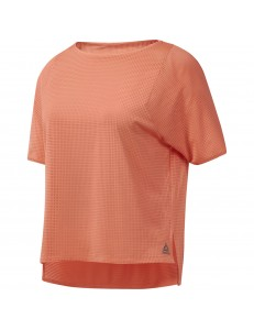 Camiseta Reebok Perforated - Stellar Pink