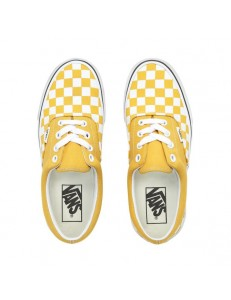 Zapatillas Vans Checkerboard Era - Yellow