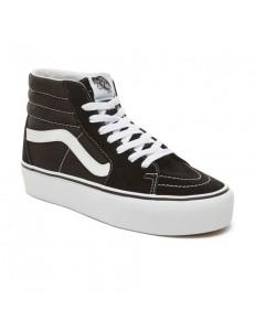 Zapatillas Vans SK8-Hi Plataforma - Black/White