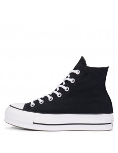 Zapatillas Converse Chuck Taylor All Star Lift Plataformas - Negro