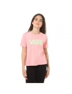 Camiseta Niña Vans Flying - Rosa
