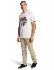 Camiseta Quiksilver Above The Sun - White