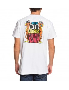Camiseta DC Shoes Strikes Again - Blanco