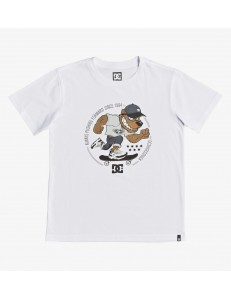 Camiseta Niño DC Shoes Pitbowl - Blanco