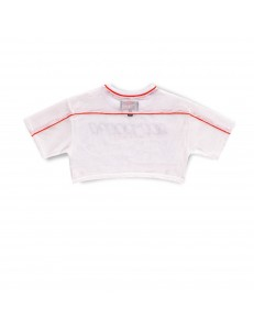 Camiseta Grimey Acknowledge Crop Top - White