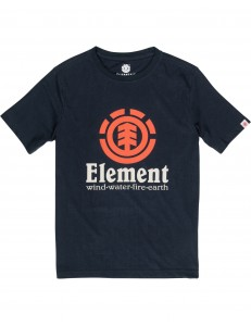 Camiseta Niño Element Vertical - Navy