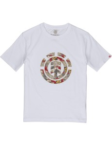 Camiseta Niño Element Origins Icon - White