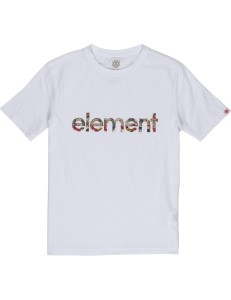 Camiseta Niño Element Origins - White