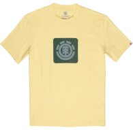 Camiseta Element Leopard Block Icon - Yellow