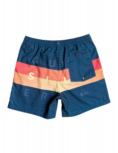 "Bañador Quiksilver Word Block Volley 17"" - Navy"