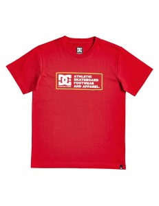 Camiseta Niño DC Shoes Sketchy Zone - Rojo