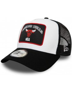 Gorra New Era Chicago Bulls - Negro/Blanco