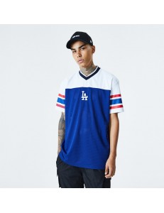 Camiseta New Era Jacquard Oversized Mesh Tee