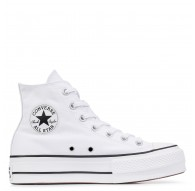 Zapatillas Converse Chuck Taylor All Star Lift Plataformas - Blanco