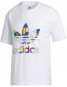 Camiseta Adidas Pride Flag Fill - White