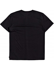 Camiseta Quiksilver Lazy Mind - Black