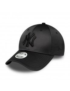 Gorra New Era Satin - Negro Satinado