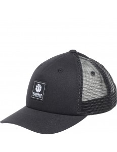 Gorra Element Icon Mesh - Negro