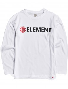 Camiseta Niño Element Blazin - Blanco
