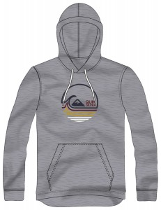 Sudadera Quiksilver Lazy Mind - Gris