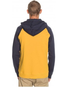 Sudadera Quiksilver Everyday Zip - Mostaza