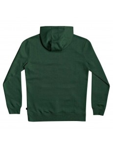 Sudadera Quiksilver Square Me Up Screen - Verde