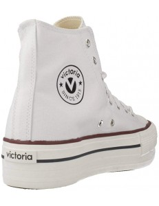 Zapatillas Victoria Tribu Doble - Blanco