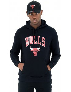 Sudadera New Era Chicago Bulls - Negro