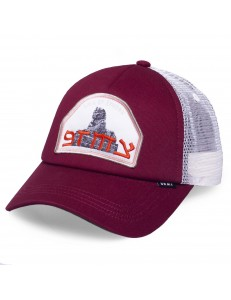 Gorra Grimey Call Of Yore Trucker - Burdeos