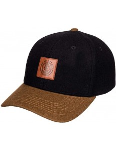 Gorra Element Treelogo - Negro/Marron