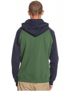 Sudadera Quiksilver Everyday Zip - Verde