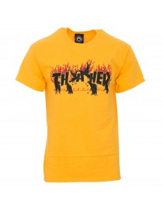 Camiseta Thrasher Crows - Amarillo