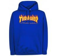 Sudadera Thrasher Flame Logo - Azul