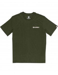 Camiseta Element Blazin Chest - Verde