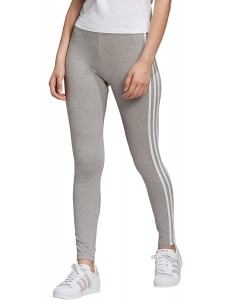 Leggings Adidas Originals 3 Bandas - Gris