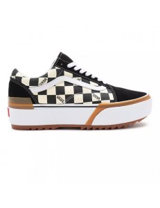 Zapatillas Vans Old Skool Stacked - Negro/Blanco