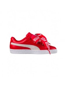 Zapatillas Puma Basket Heart De - Red